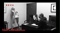 Realpornstudio.com Casting desperate skinny hooker takes anal shitter swallows