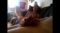 sweet foot job from the ex girlfriend