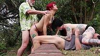 Amelia Dire/Mallory Maneater (DSC4-2) Golden Shower Threesome Deepthroat Oral Pussyfucking Cumshot