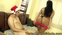 Sogra gostosa transando com seu genro na noite de natal