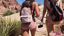 Rahyndee James Fucks Lana Rhoades Big Booty Babes Hiking Adventure