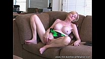Amateur MOM Drains Her Son's Balls