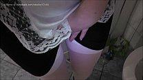 HD french maid pee revenge