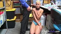 Black Tiny Teen Force Fucked By Guard- Arie Faye