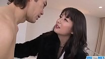 Office bimbo, Ayumi Iwasa, removes her undies for a wild fuck- More at JavHD.net