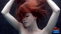 Elle Alexandra is Elle'Agant Red Underwater