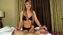 Abby Paradise Gives You A Teasing Handjob POV