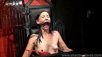 Amateur bdsm and b. whipping of tied private slave girl Lolani in tit tortur