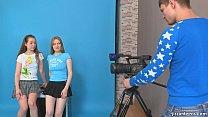 JizzOnTeens.com - Lora and Jazzy seduce cameraman