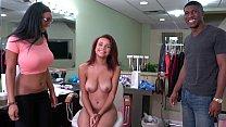 BANGBROS - Big Booty Pornstar Arianna Knight Shows Raven The Ropes