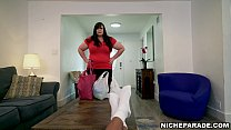 NICHE PARADE - Thicc Stepmom Marcy Diamind Plants Her Big Ass On Lil D For Some Facesitting Action