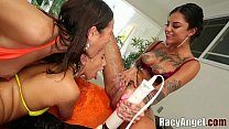 Lesbian Squirting Starlet Bonnie Rotten - Sarah Shevon, Vyxen Steel, Amber Rayne