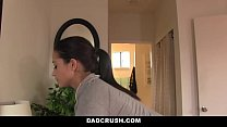 DadCrush - Sexy Daughter (Avi Love) Brings Dad Breakfast In Bed