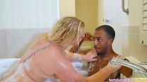 Selah Gets Super Wet For The Towel Boy