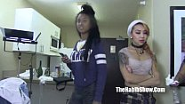 threesome bbc asian kimberly chi bbw giggles gangbanged nut