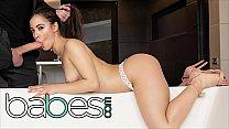 Sexy Spanish Babe (Anastasia Brokelyn) Rides (Lutros) Cock For Her Birthday - BABES