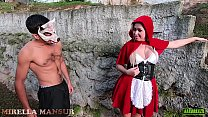 Chapeuzinho vermelho encontra o lobo dotado no bosque - Mirella Mansur - Big Bambu