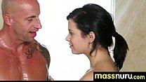 Japanese Masseuse Gives a Full Service Massage 9