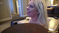 BLONDE TRISHA PARKS GETS HER SLUTTY PUSSY FILLED WITH HOT CUM