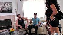 Spizoo - Raven Hart & Savana Styles gets fucked by 2 big dicks, big booty