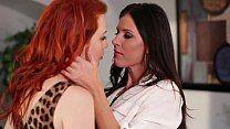 Lesbian Office Play 01...