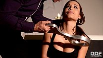 Russian Mistress Anna Polina pours loads of hot wax all over Tasha Holz