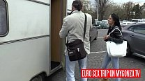 Euro Sex Trip: Hannah Sweet In The Sex Van with Reinhard and Dieter Von Stein