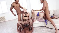 Interracial Renegades Selvaggia and Candela X DP'ed to the MAX!