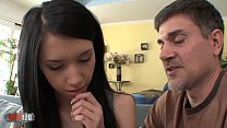 (Sugar) Daddy's girl gets cum in the mouth