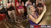 16 Cheating wives at underground fuck party orgy!47