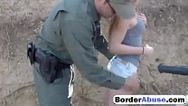 Alex Tanner Gets Stripped By Guy In Uniform Before He Abuses Her Pussy