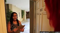 Innocent Girl Kidnaped by Lusty Lesbian Siri - LesbianCums.com