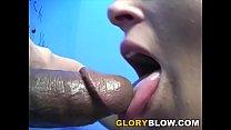 Blonde Black Cock Slut Holly Landers - Gloryhole