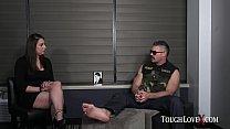 TOUGHLOVEX Karl casting big tit Latina slut Tori Avano