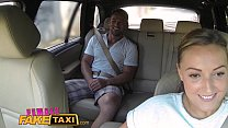 Female Fake Taxi Massive tits cabbie wants cock on the backseat