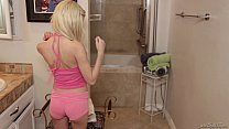 Daddy sniffing her Step Daughter Piper Perri's panties