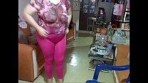 miniskirter2003 Leggins pantyless fucsia blusa transparente