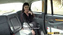 Fake Taxi British Indian Asian with a perfect booty fucked in taxi