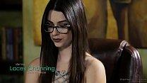 Amazing sex massage - Lacey Channing and Brad Knight