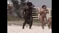 Negro En Playa Nudista