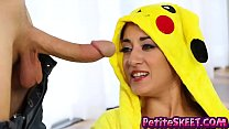 Pokemon training with tiny teen pika Freya von Doom