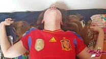 Spaniard Horny Teen helps him to lost his virginity ( Creampie )