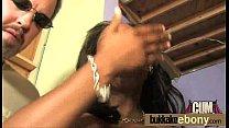 Ebony gangbanged interracial 17