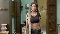 Riddhima Tiwari Hindi Serial actress Hottest Seducing Scene in Ghulaam Serial