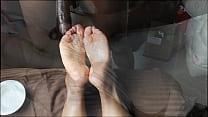 Ebony Wrinkled solejob (not my video)2