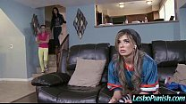 Hot Lez Get Toy Sex Punishment From Mean Lesbo clip-12