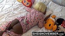 Ebony Amateur Step Sister Msnovember Riding & Doggystyle Sex Big Tits & Ass POV