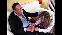 Pretty young french student teen in schoolgirl uniform banged and sodomized