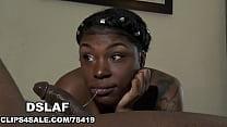 Ebony Teen With A Deepthroat Sloppy Head Pussy Mouth- DSLAF