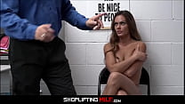 Hot Ahtletic Body MILF Aila Donovan Caught Shoplifting Fucked By Guard After Deal